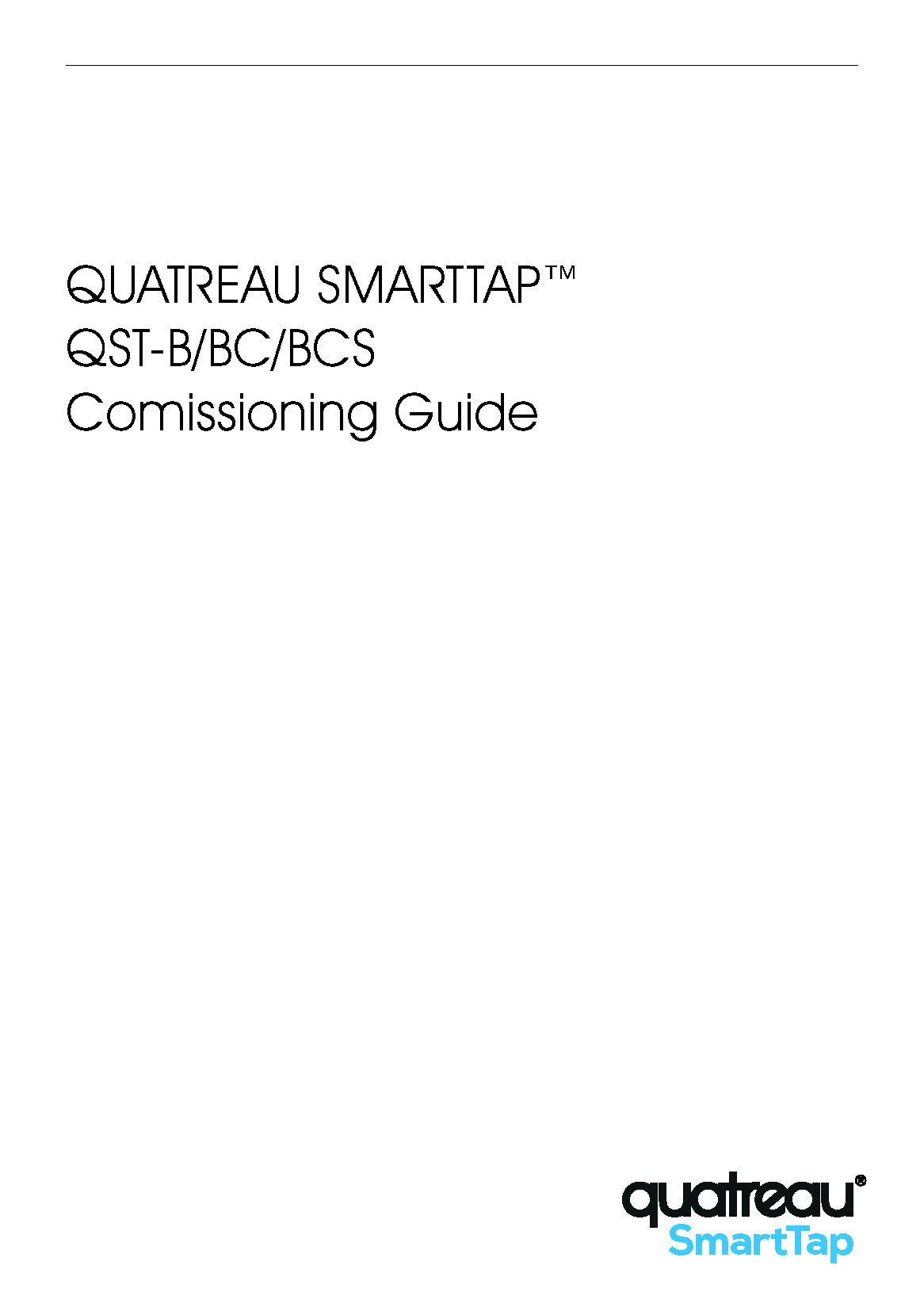 QuatreauSmartTap-CommissioningGuide-50hz